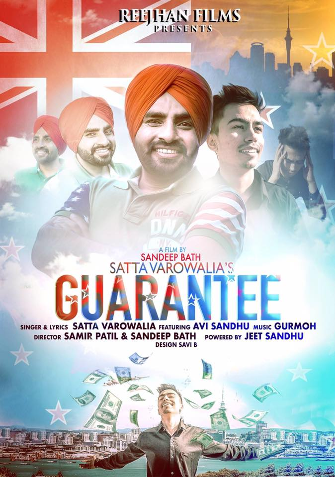 Satta Vairowalia new Punjabi song Guarantee first look song