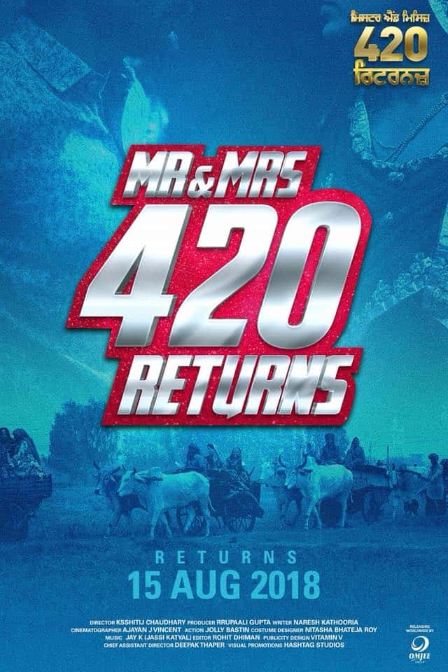Mr and Mrs 420 Returns cast - punjabi movies