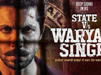 State Vs Waryam Singh punjabi movie poster