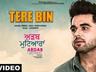 Tere Bin Song Lyrics - Ardab Mutiyaran - Ninja